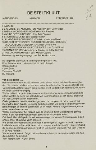 de Steltkluut 1993-02-01