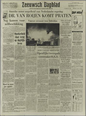 Zeeuwsch Dagblad 1962-06-05