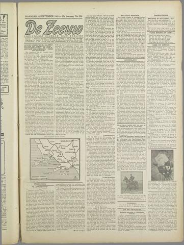 De Zeeuw. Christelijk-historisch nieuwsblad voor Zeeland 1943-09-20