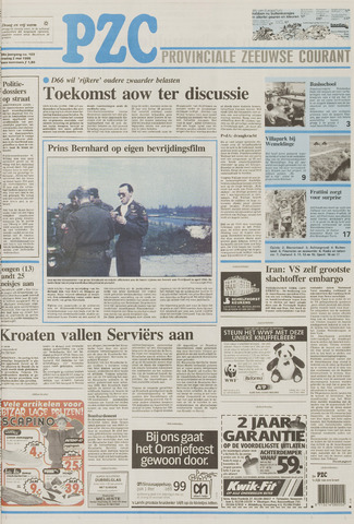 Provinciale Zeeuwse Courant 1995-05-02