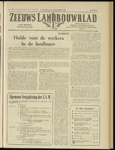 Zeeuwsch landbouwblad ... ZLM land- en tuinbouwblad 1960-12-17