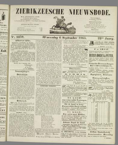 Zierikzeesche Nieuwsbode 1865-09-06