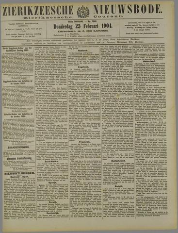 Zierikzeesche Nieuwsbode 1904-02-25