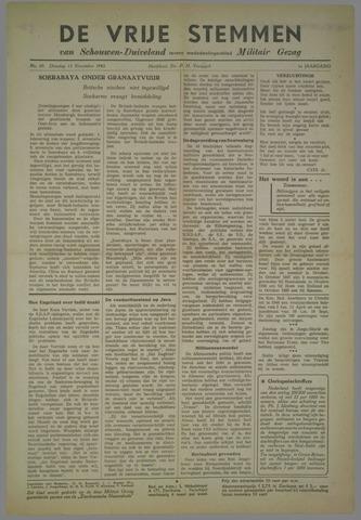 Vrije Stemmen van Schouwen-Duiveland, tevens mededeelingenblad Militair Gezag 1945-11-13