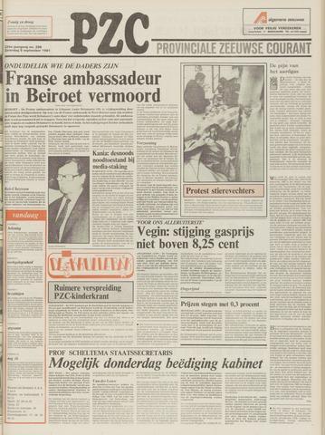 Provinciale Zeeuwse Courant 1981-09-05