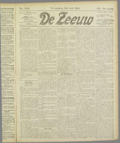 De Zeeuw. Christelijk-historisch nieuwsblad voor Zeeland 1919-07-30