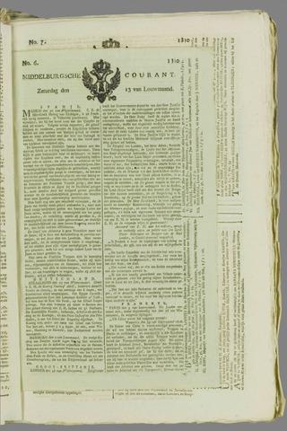 Middelburgsche Courant 1810-01-13