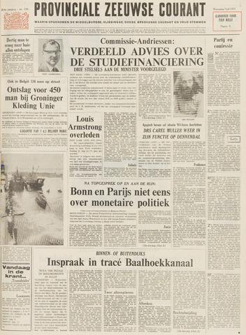 Provinciale Zeeuwse Courant 1971-07-07