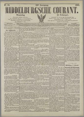 Middelburgsche Courant 1895-02-11