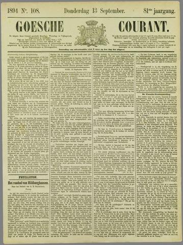 Goessche Courant 1894-09-13