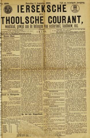 Ierseksche en Thoolsche Courant 1908-08-01