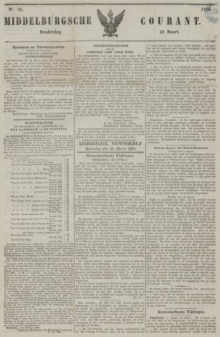 Middelburgsche Courant 1850-03-21