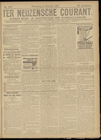 Ter Neuzensche Courant. Algemeen Nieuws- en Advertentieblad voor Zeeuwsch-Vlaanderen / Neuzensche Courant ... (idem) / (Algemeen) nieuws en advertentieblad voor Zeeuwsch-Vlaanderen 1928-02-29