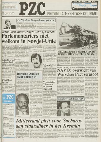 Provinciale Zeeuwse Courant 1984-06-22