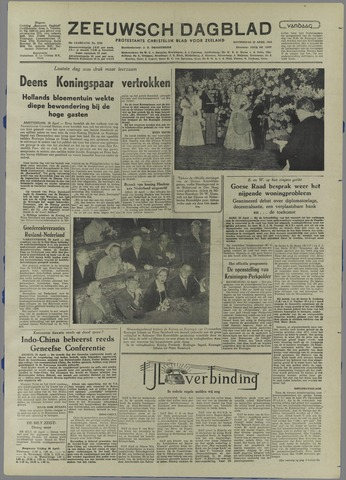 Zeeuwsch Dagblad 1954-04-29