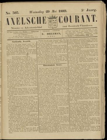 Axelsche Courant 1889-05-29