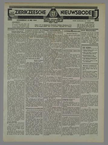 Zierikzeesche Nieuwsbode 1941-05-08