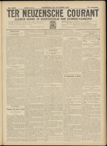 Ter Neuzensche Courant. Algemeen Nieuws- en Advertentieblad voor Zeeuwsch-Vlaanderen / Neuzensche Courant ... (idem) / (Algemeen) nieuws en advertentieblad voor Zeeuwsch-Vlaanderen 1937-10-20