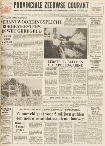 Provinciale Zeeuwse Courant 1968-10-15
