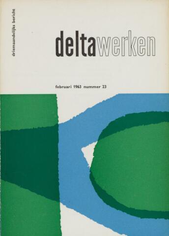 Driemaandelijks bericht Deltawerken 1963-02-01