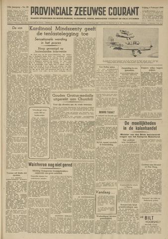 Provinciale Zeeuwse Courant 1949-02-04