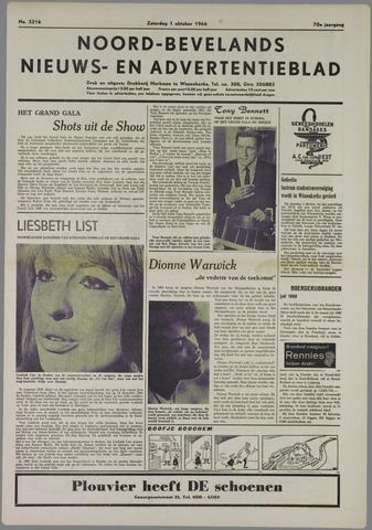 Noord-Bevelands Nieuws- en advertentieblad 1966-10-01