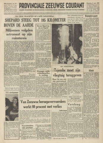 Provinciale Zeeuwse Courant 1961-05-06