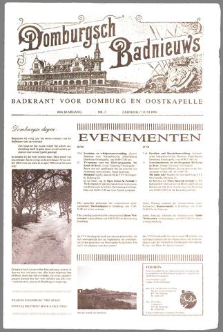 Domburgsch Badnieuws 1986