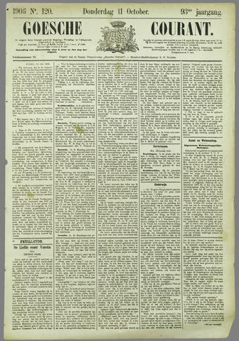 Goessche Courant 1906-10-11