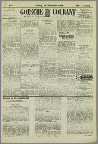 Goessche Courant 1924-11-11