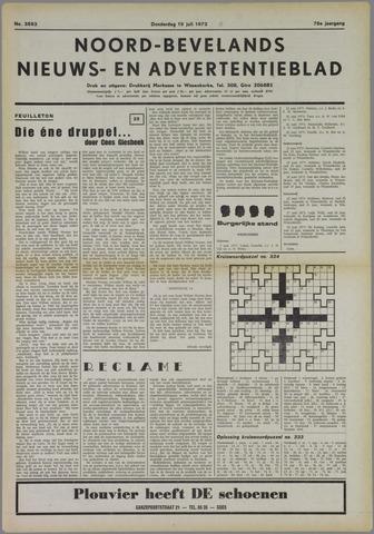Noord-Bevelands Nieuws- en advertentieblad 1973-07-19