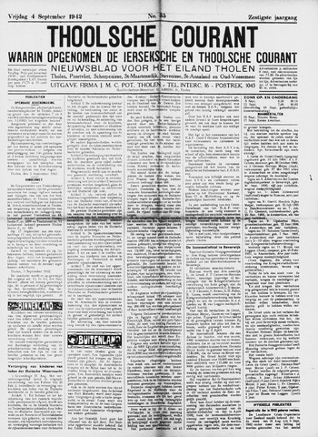 Ierseksche en Thoolsche Courant 1942-09-04