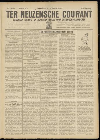 Ter Neuzensche Courant. Algemeen Nieuws- en Advertentieblad voor Zeeuwsch-Vlaanderen / Neuzensche Courant ... (idem) / (Algemeen) nieuws en advertentieblad voor Zeeuwsch-Vlaanderen 1935-10-14