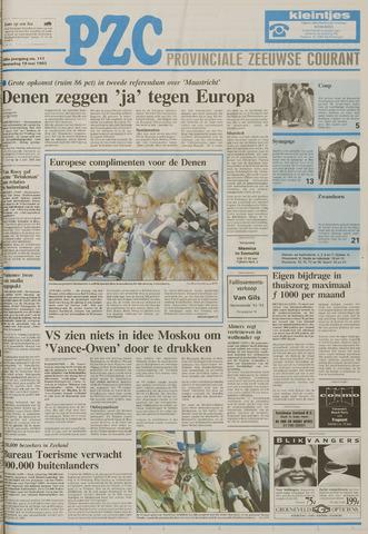 Provinciale Zeeuwse Courant 1993-05-19