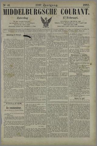 Middelburgsche Courant 1883-02-17
