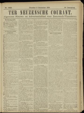 Ter Neuzensche Courant. Algemeen Nieuws- en Advertentieblad voor Zeeuwsch-Vlaanderen / Neuzensche Courant ... (idem) / (Algemeen) nieuws en advertentieblad voor Zeeuwsch-Vlaanderen 1919-12-02