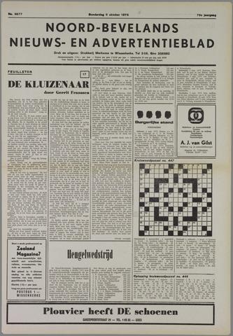 Noord-Bevelands Nieuws- en advertentieblad 1975-10-09