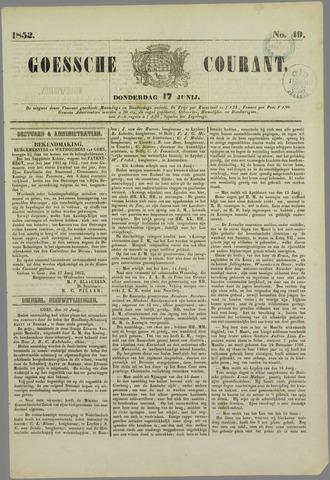 Goessche Courant 1852-06-17