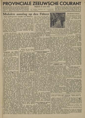 Provinciale Zeeuwse Courant 1944-07-21