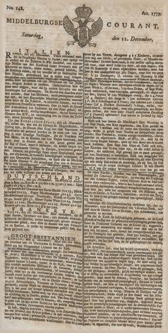 Middelburgsche Courant 1779-12-11