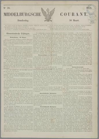 Middelburgsche Courant 1854-03-30
