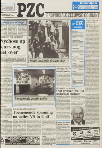 Provinciale Zeeuwse Courant 1987-10-21