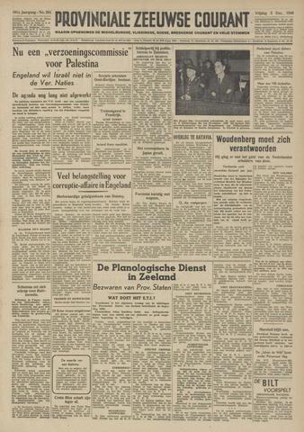 Provinciale Zeeuwse Courant 1948-12-03