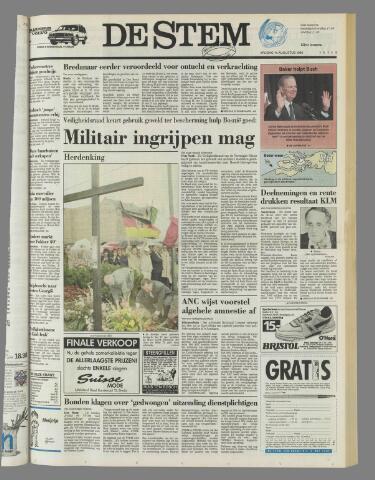 de Stem 1992-08-14