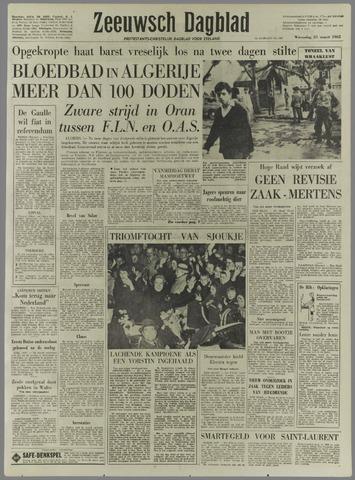 Zeeuwsch Dagblad 1962-03-21