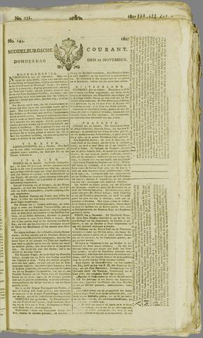 Middelburgsche Courant 1807-11-12
