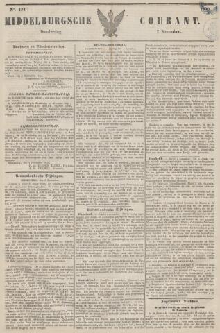 Middelburgsche Courant 1850-11-07
