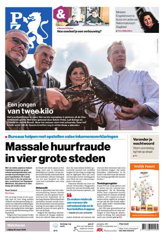 Provinciale Zeeuwse Courant 2018-03-30