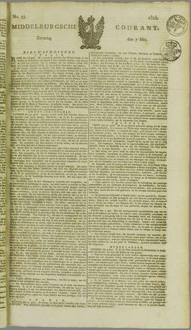 Middelburgsche Courant 1825-05-07