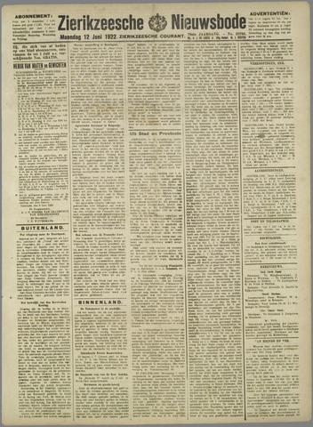 Zierikzeesche Nieuwsbode 1922-06-12